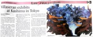 Villaseran_Inquirer_Villaseran exhibits at Kashima in Tokyo