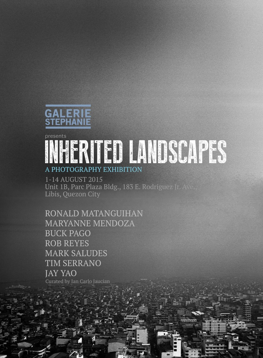 Inherited Landscapes Poster (Galerie Stephanie)