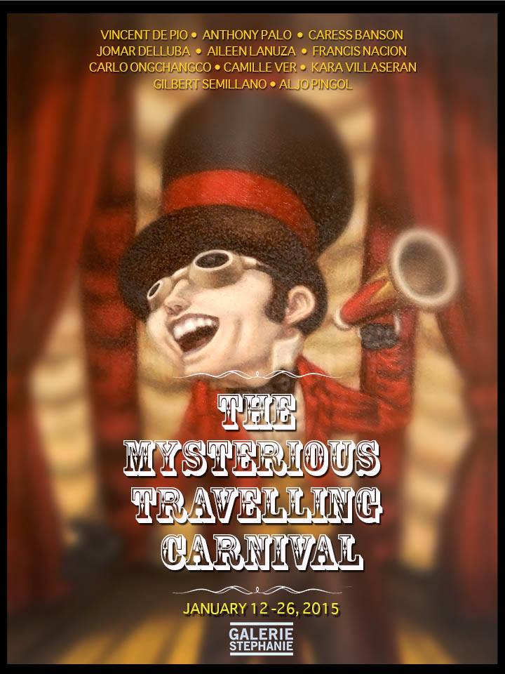 Mysterious Travelling Carnival Poster