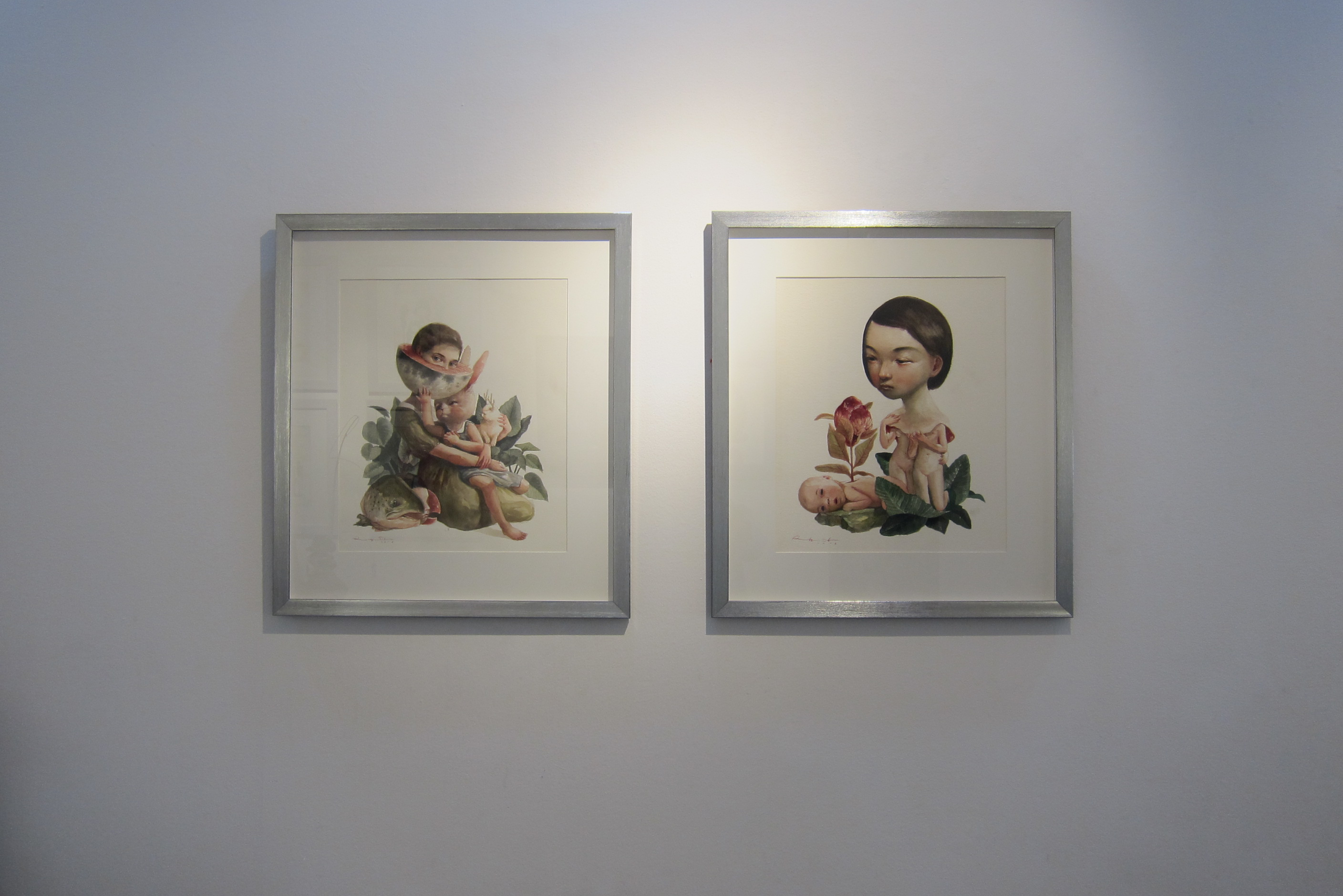 "Roby Dwi Antono, ""Wiping Howl #3"" and ""A New Life"""