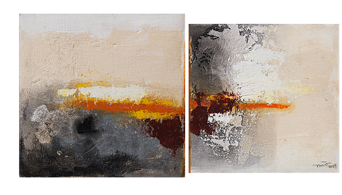 Tactile (Diptych)