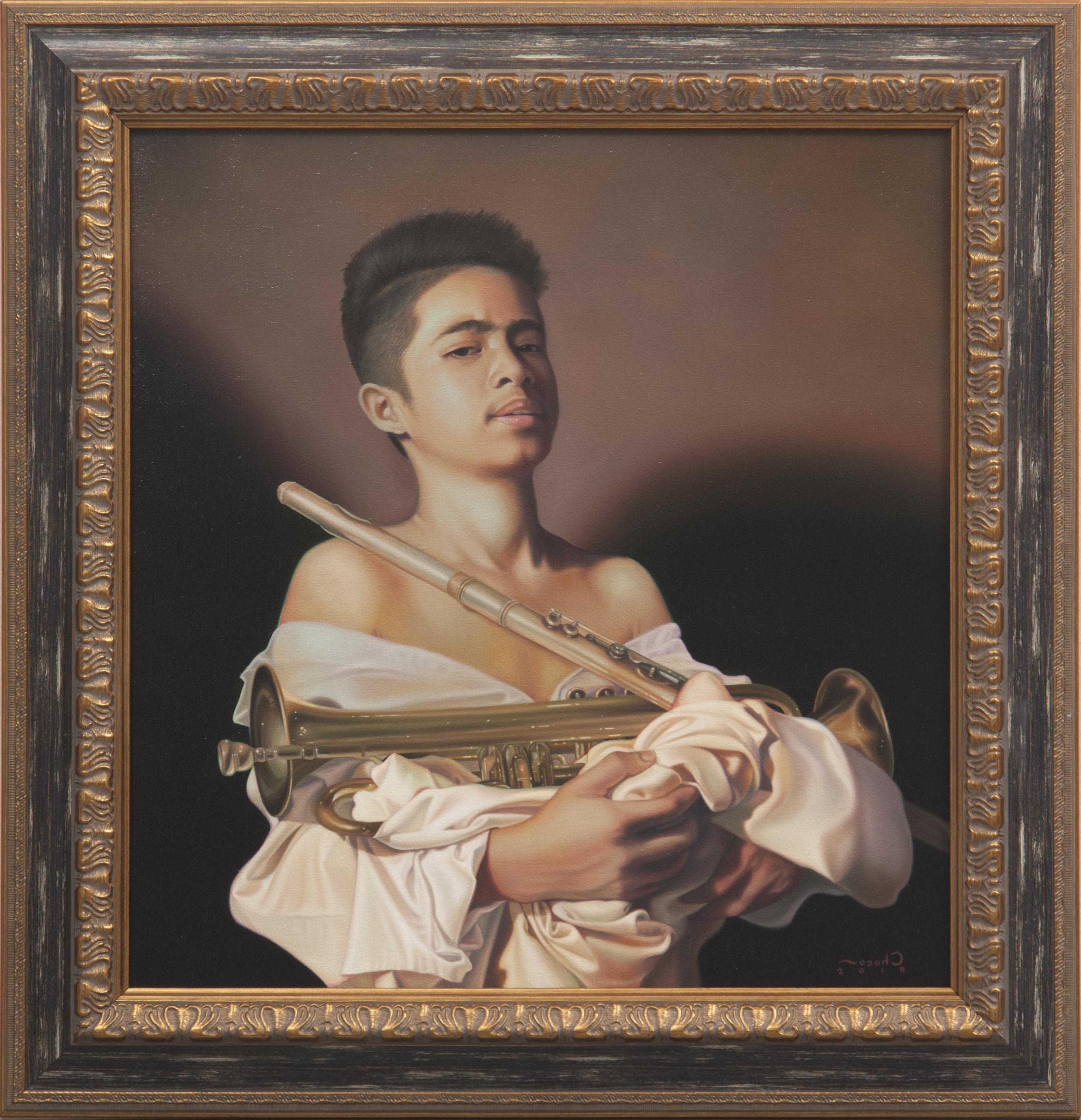 Ragazzo con strumenti musicali (Boy with Musical Instruments)