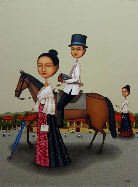 Equine Courtship