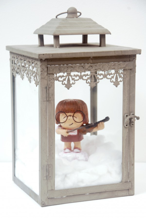 Macy on Violin