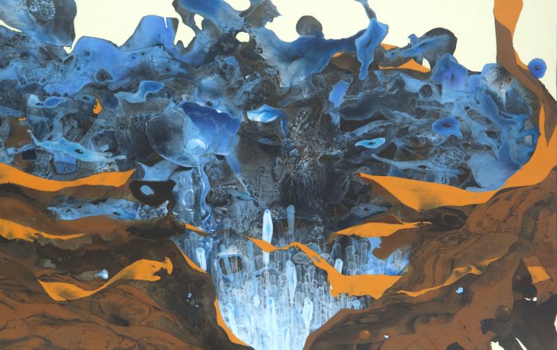 Blue Fruit 1 (detail)