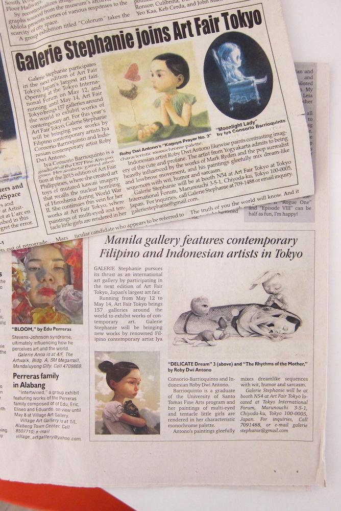 Art Fair Tokyo - Phil Inquirer,Phil Star